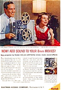 Kodak 8mm Sound Projector Ad Nov 1960 (Image1)