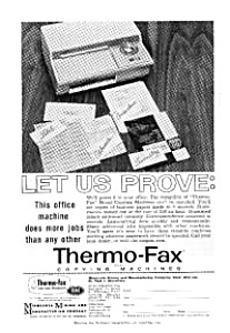 Thermo-Fax Copying Machines Ad (Image1)