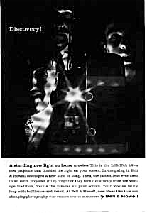 Bell & Howell Lumina Ad Dec 1959 (Image1)