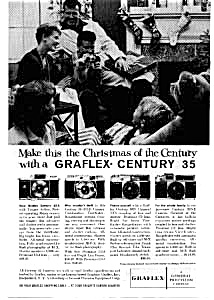 Graflex Century 35 Camera Ad Dec 1959 (Image1)