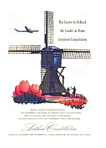 Lockheed Constellation Ad Auc125922