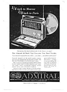 Admiral Shortwave Radio Ad auc1410 Sep 1959 (Image1)