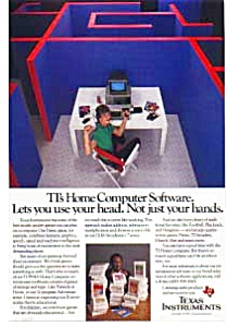 Texas Instruments Home Computer Software Ad (Image1)
