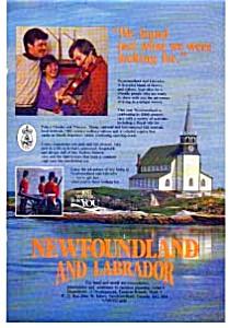 Newfoundland and Labrador  Ad auc148 Mar 1983 Color (Image1)