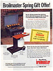 Broilmaster Gas Grill Ad Sat. Evening Post (Image1)