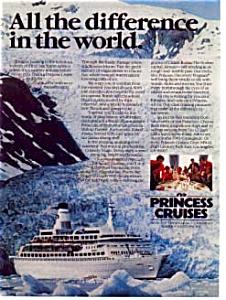 Princess Cruises Ad Alaska TransCanal (Image1)