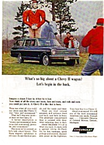 Chevy II Nova Station Wagon Ad April 1965 (Image1)