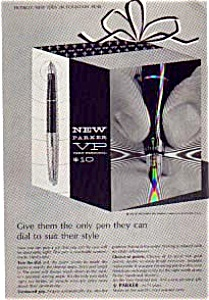 Parker VP Fountain Pen Ad Nov 1963 (Image1)