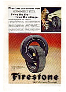 Firestone  Sup-R-Belt Tire Ad 1969 (Image1)