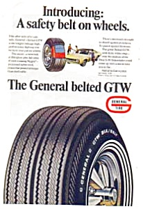 General Belted GTW  Tire Ad 1960s (Image1)