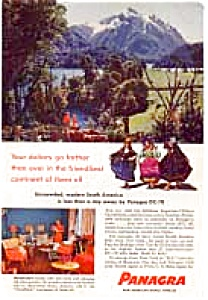 Panagra Advertisement Auc164 Feb 1957