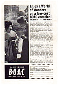 BOAC Airlines Ad Dec1963 (Image1)