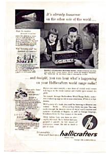 Hallicrafter s World Range  Radio Ad auc1711 Jun 1962 (Image1)