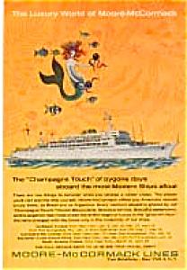 Moore McCormack Lines Advertisement auc174 Jan 1964 (Image1)