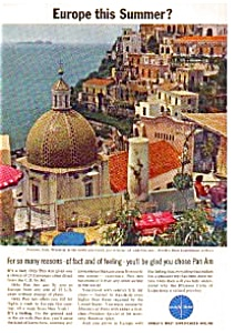 Pan Am Airlines Ad April 1963