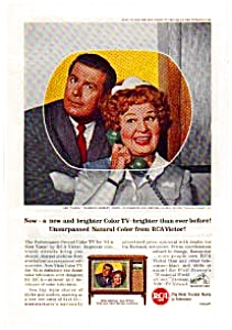 RCA TVs Shirley Booth Ad auc1820 Mar 1964 (Image1)