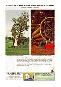 Middle South Utilities Ad Auc1823 Mar 1964