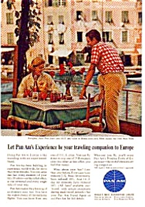Pan Am Ad Auc1824 Mar 1964