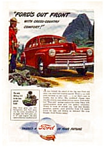 1940s Ford In Your Future Ad