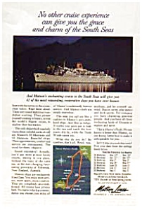 Matson Lines  South Seas Ad (Image1)