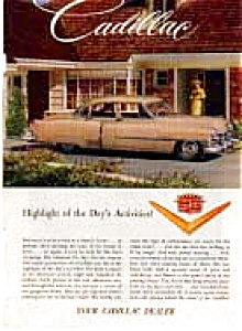 1950s Cadillac Advertisement Color