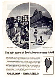 Panagra Pan Am Airlines Ad Auc3129 Dec 1961
