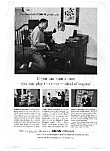 Conn Spinet Organ Ad auc3221 Nov 1959 (Image1)