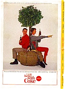 Coca Cola Tree Planting Ad Auc3322 April 1964