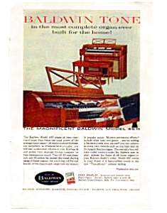 Baldwin Pianos  Color Ad auc3343 Oct 1959 (Image1)