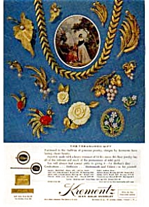 Krementz Jewelry Treasured Gift Ad auc3352 May 1963 (Image1)
