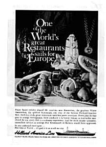 Holland American Line Ad Apr 1961 (Image1)