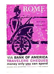 Rome Summer Olympics Bank of America Ad auc3431 (Image1)
