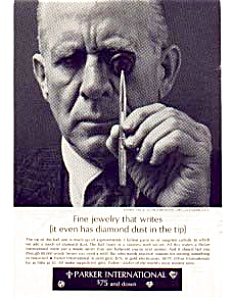 Parker International Pen Ad Sep 1962 (Image1)