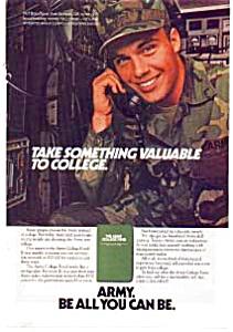 US Army College Ad auc3522 Dec 1983 (Image1)