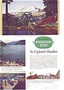 Washington State Explorers Paradise Ad 1940s (Image1)