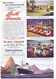Moore McCormack South Pacific Cruises Ad 1940 (Image1)