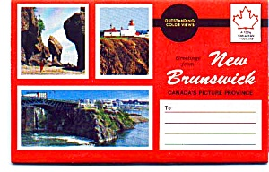 Souvenir Folder Of New Brunswick Auc353