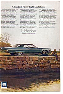 1971 Olds Ninety-eight Ad