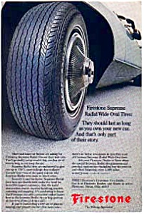 Firestone Radial Wide Oval Tire AD auc3623 (Image1)