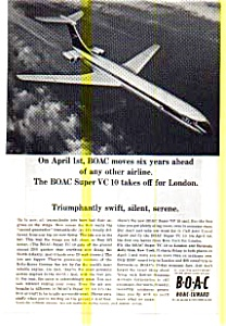 Boac Introduces The Super Vc10 Ad Auc3704