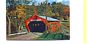 Taftsville VT Covered Bridge Postcard (Image1)