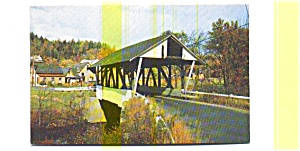 Lyndon VT Covered Bridge Postcard (Image1)