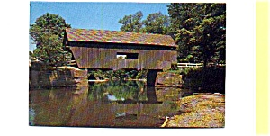 Mad River Bridge VT Postcard (Image1)