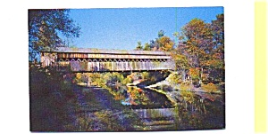Saxtons River Bridge VT Postcard (Image1)