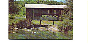 Covered  Bridge VT Postcard (Image1)
