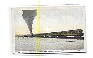 Western Pacific Steam Train UT Postcard aug2755 (Image1)