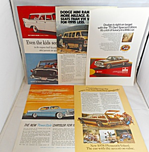 A Automobile Ad Lot Chrysler Dodge Plymouth Aytop0002