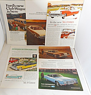 A Nostalgic Automobile Ad Lot Ford Mercury Continental Aytop003