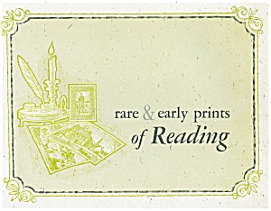Reading, Pa Rare And Early Prints