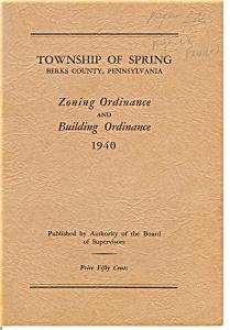 Spring Township, PA Zoning Ordinances (Image1)
